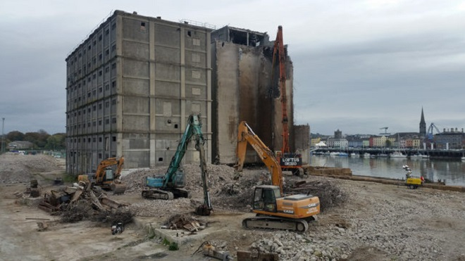 Fate of Waterford's iconic flour mill building to be decided later