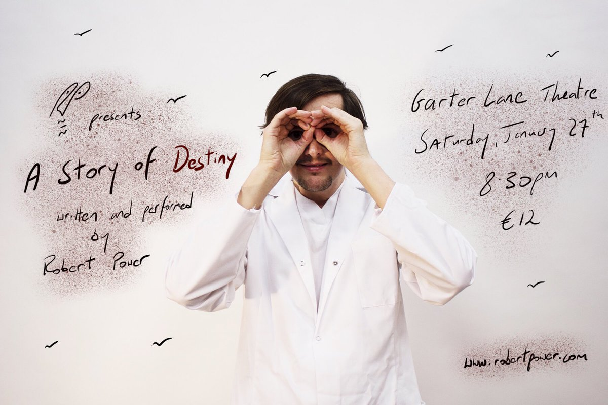 """""""A Story of Destiny"""" comes to Garter Lane Arts Centre this Saturday January 27th"""