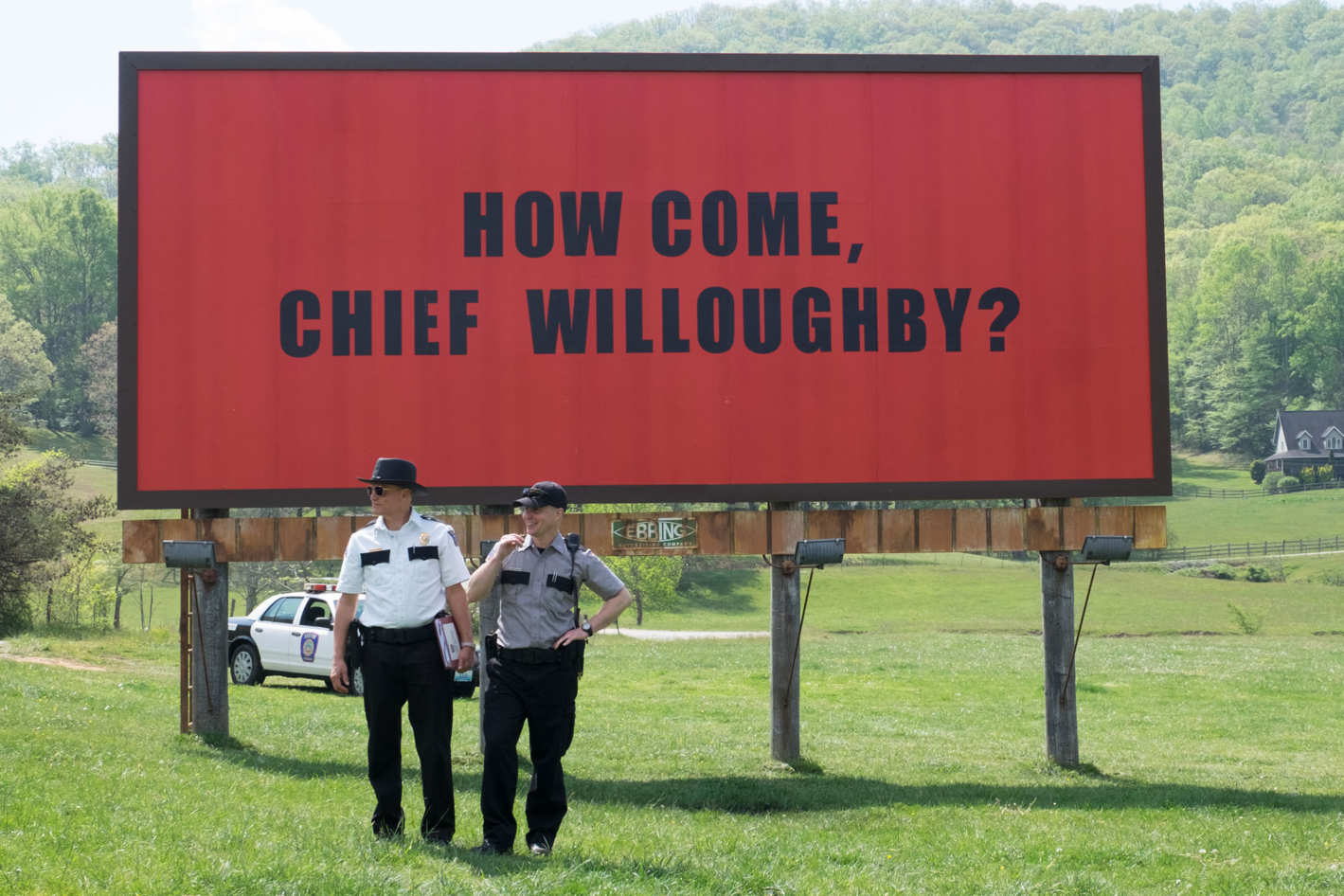 """Three Billboards outside Ebbing, Missouri"" has landed in Irish cinemas and Maria McCann says it lives up to the hype"
