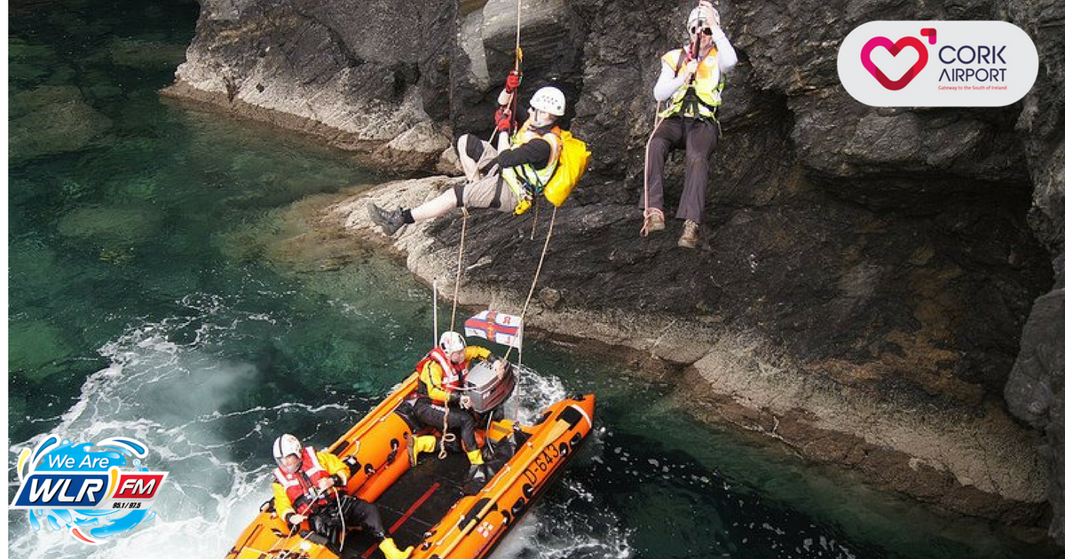 Listen: Geoff chats to members of the Tramore Cliff and Mountain Rescue Association