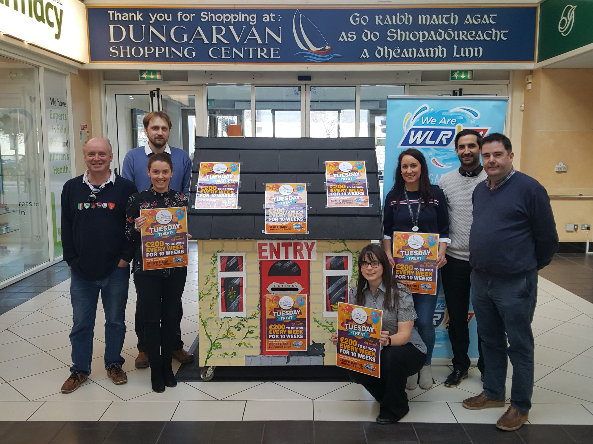 WIN: Tuesday Treat with Dungarvan Shopping Centre