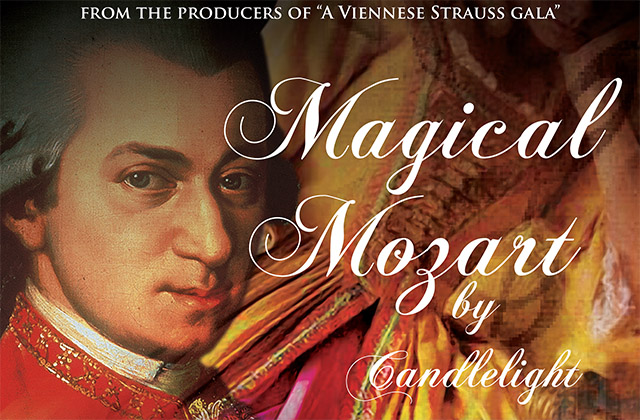 Magical Mozart by Candlelight at The Theater Royal