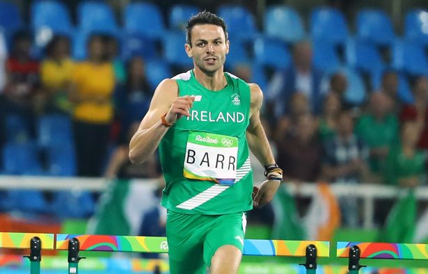 Impressive win for Thomas Barr at Athlone International Indoor Grand Prix