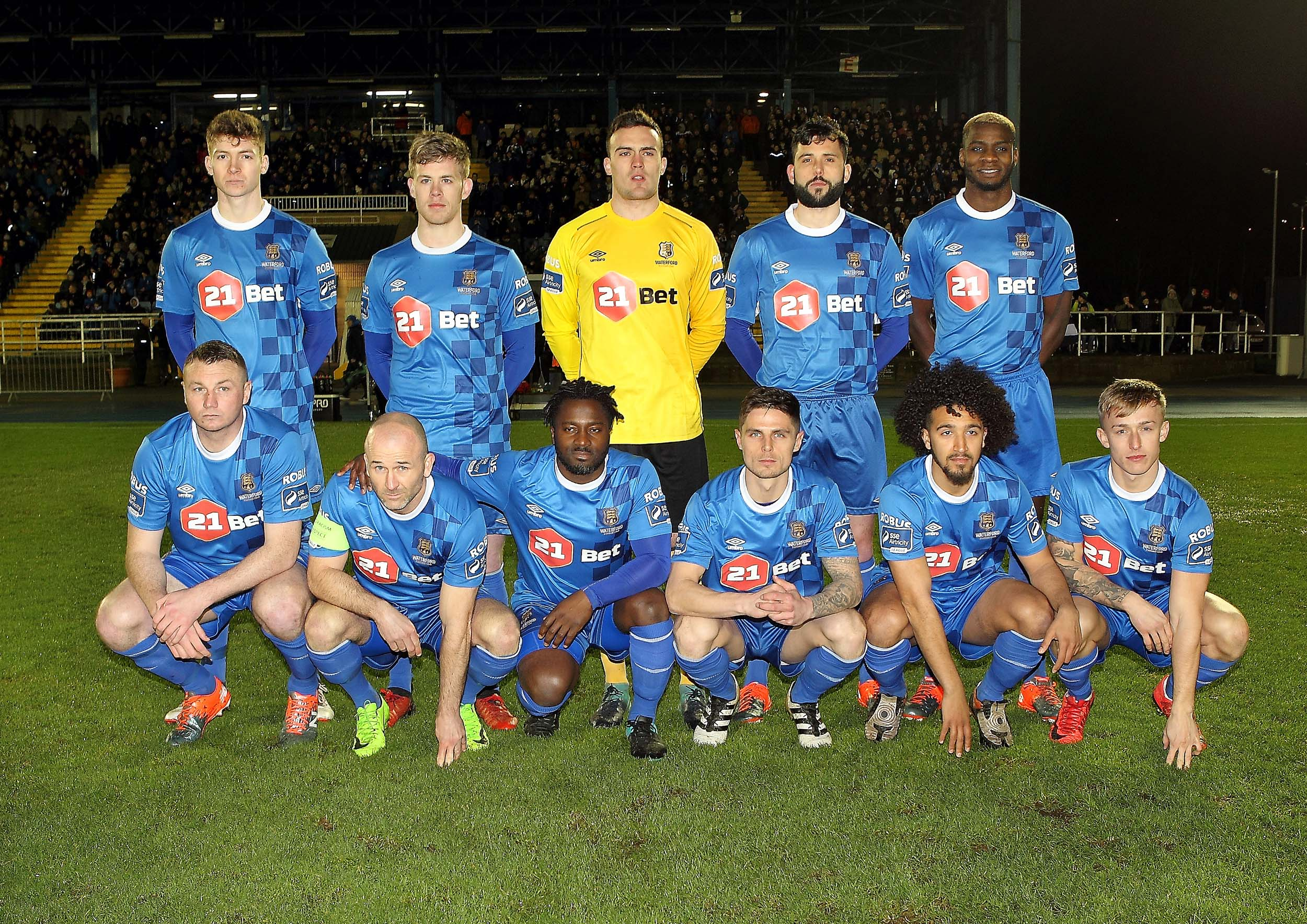 Waterford FC welcome St. Patrick's Athletic to the RSC this evening