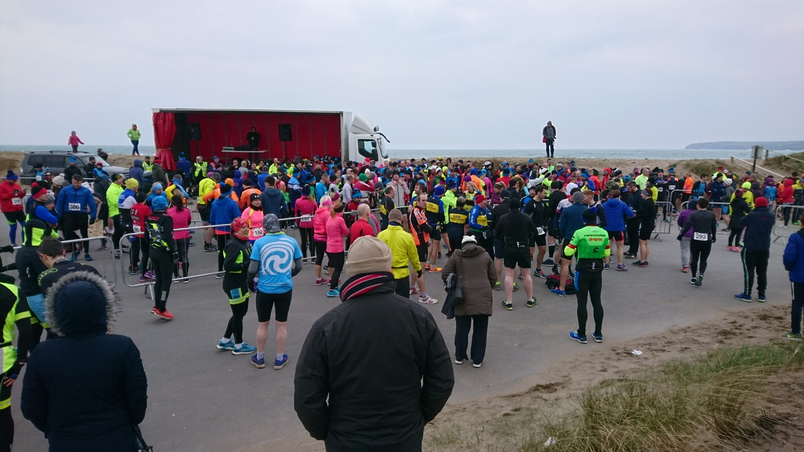 """Ollie and Mary took part in the """"Eirgen Tramore Duathlon"""""""