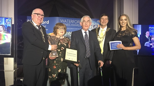 The Book Centre named overall winners of the Waterford Business Awards
