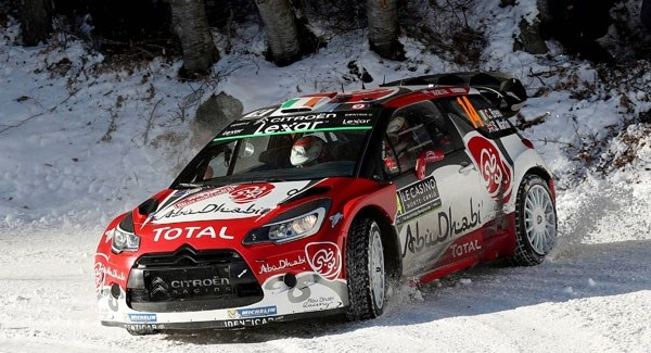 Craig Breen 2nd after 11 stages in Sweden