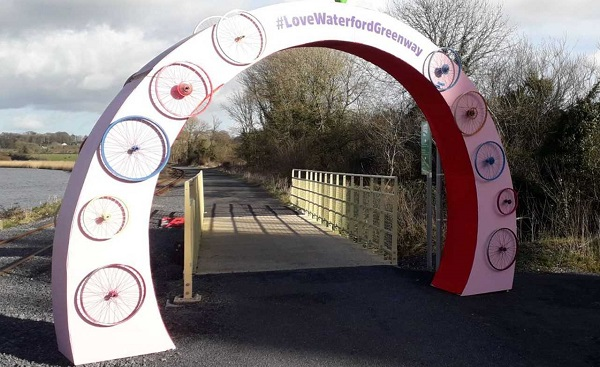 Hopes are high for a proposal on the Waterford Greenway this week