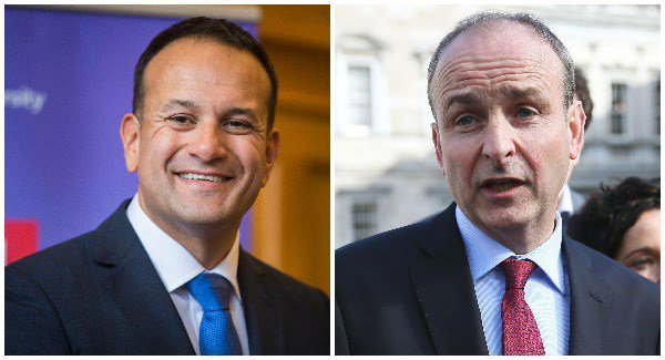 Almost two-thirds of voters support FF or FG, poll finds