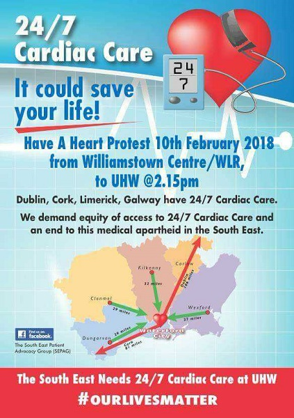 Support urged for cardiac march as latest statistics demonstrate need for 24/7