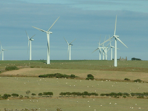 A meeting to discuss the proposed wind farm development at Coolbeggan