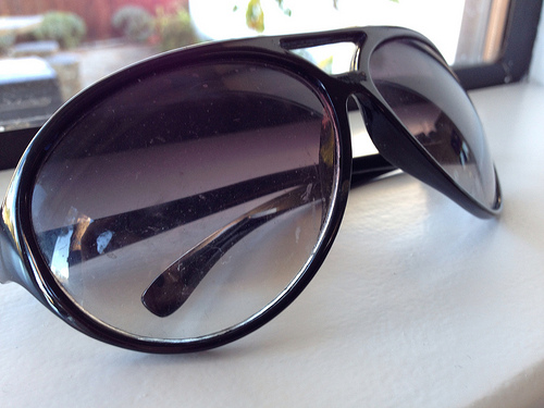 Lost:  a pair of Ray Bans
