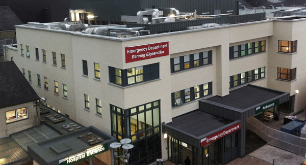 Huge demand on Emergency Department at UHW .