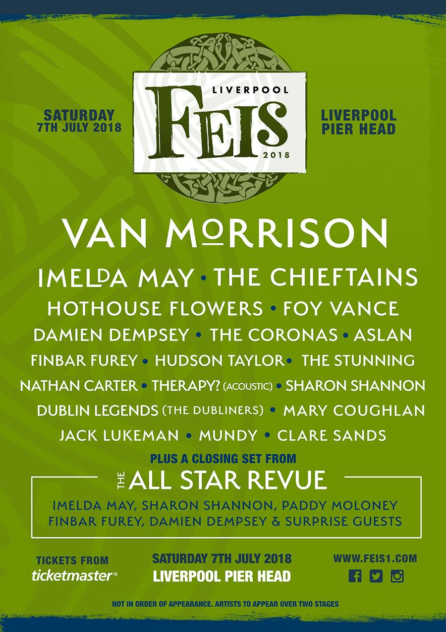 Waterford born music promoter Vince Power is bringing a new festival to Liverpool.
