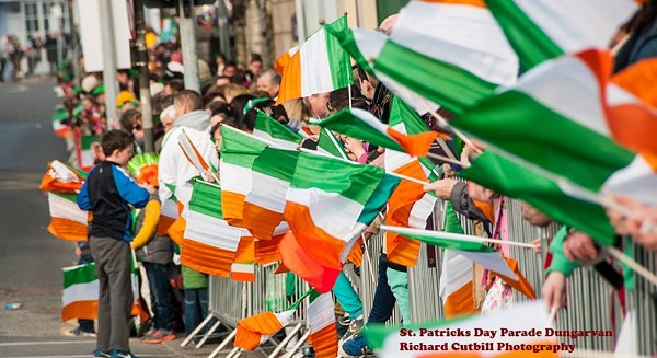 St. Patrick's Day parades take place across Waterford City and County this afternoon