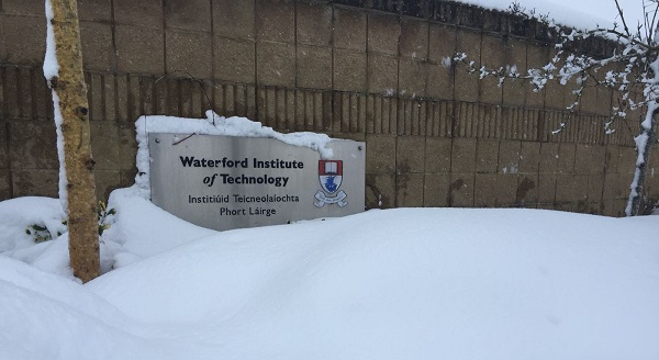 Storm Emma puts WIT students in the 'Moodle' to study