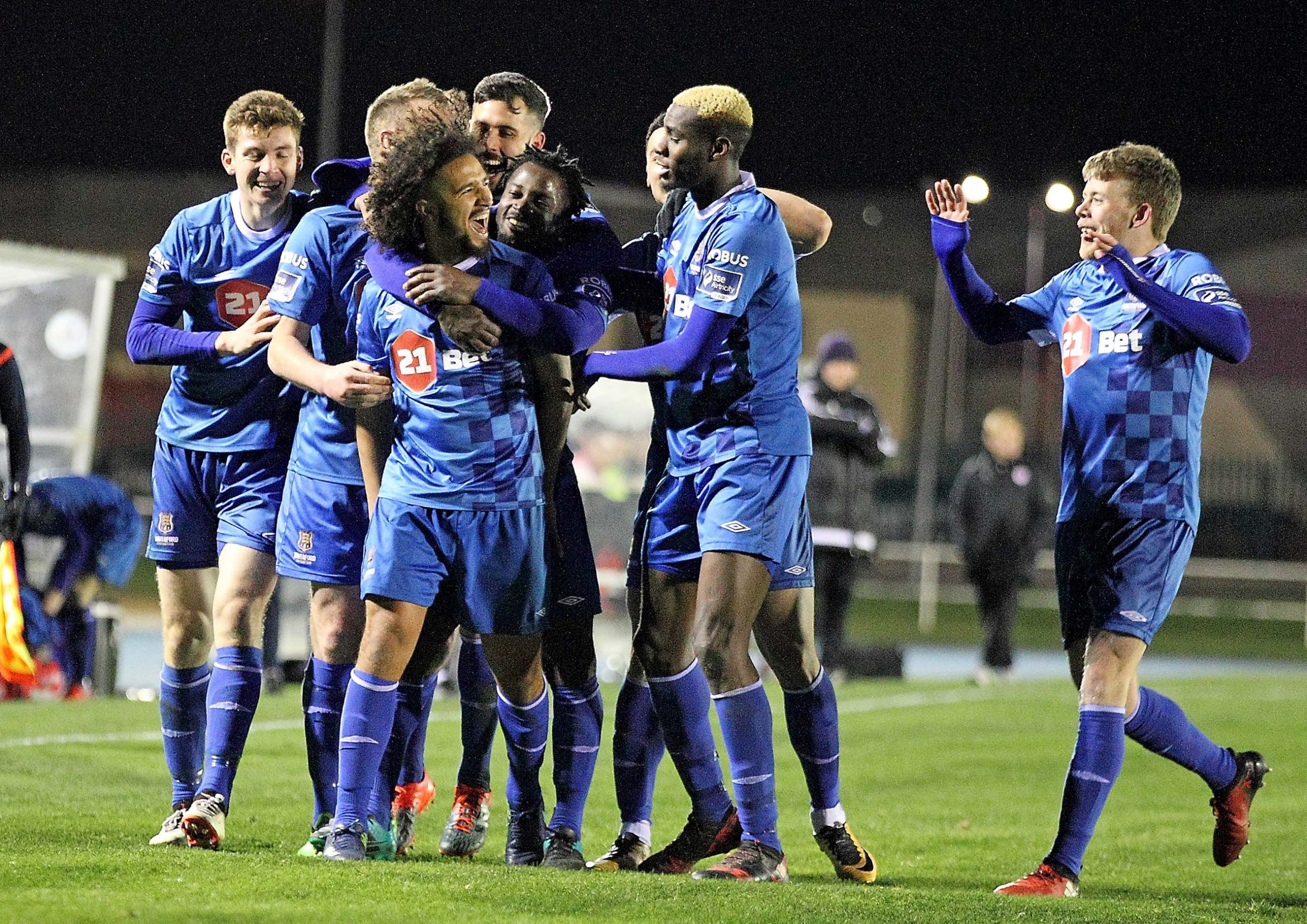 Blues welcome Shamrock Rovers for massive game in the Airtricity League Prermier Division this evening