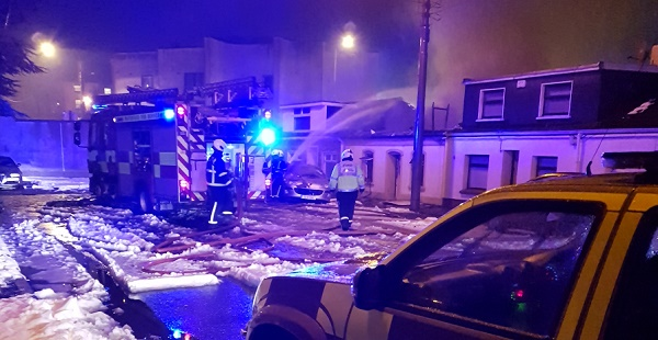 Reports of an explosion in Waterford City