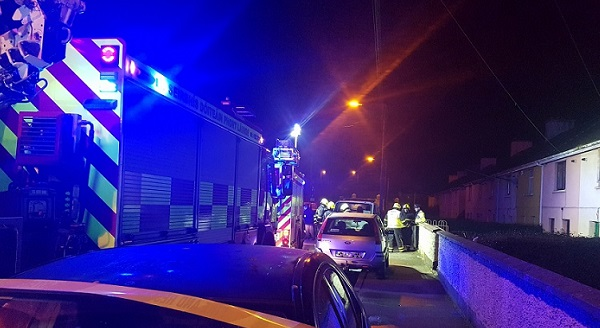 A man who died of carbon monoxide poisoning in Waterford City last night has been named