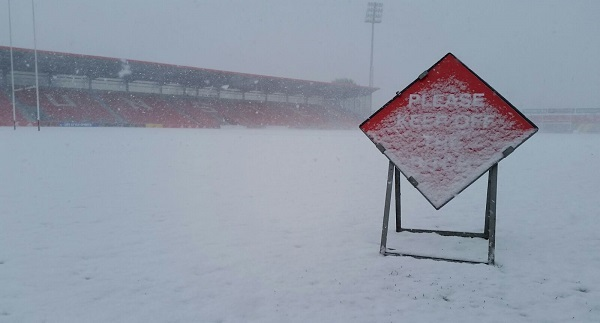 Sporting fixtures cancelled in Waterford and across the country