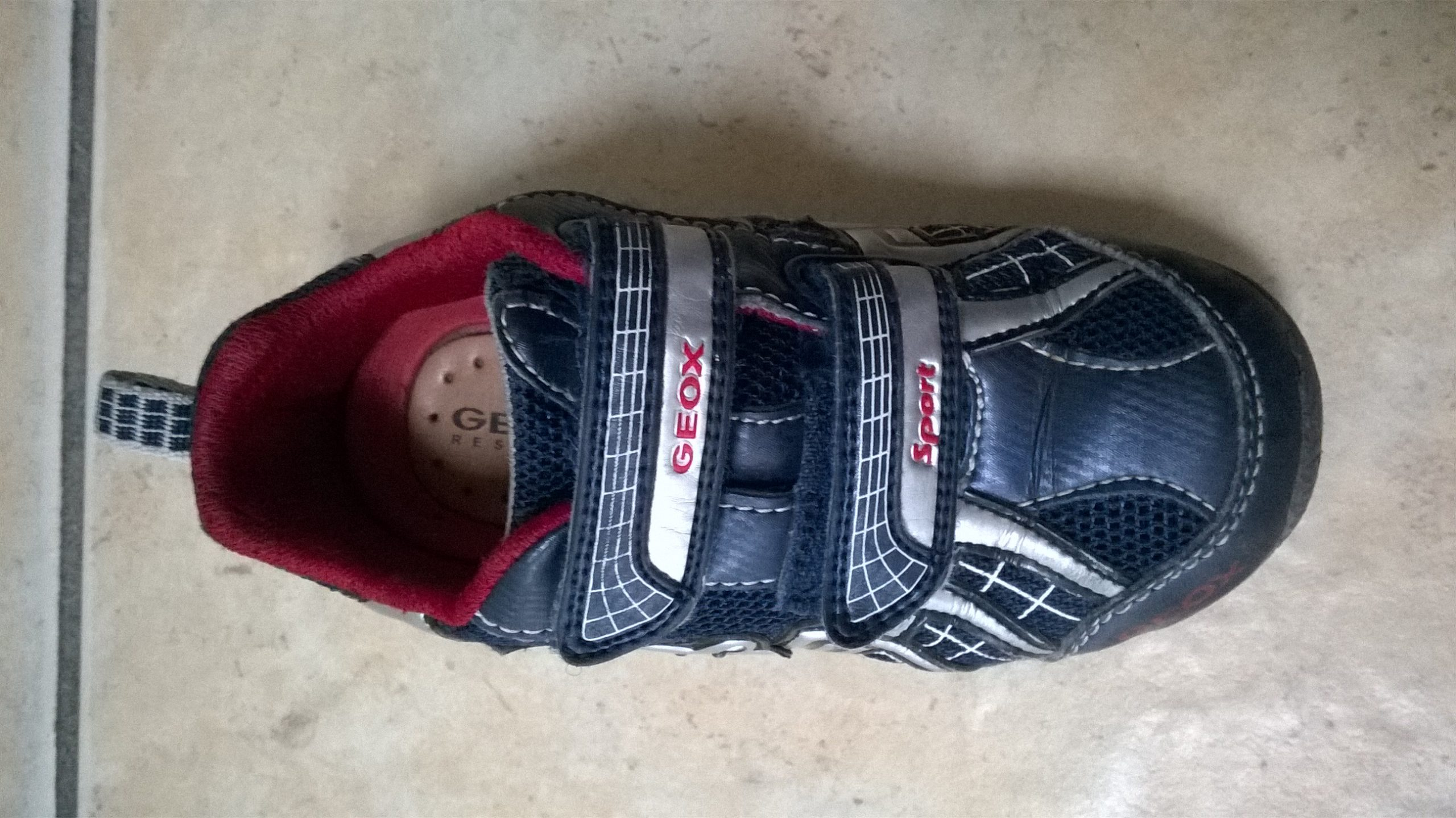 Found: Geox child's shoe