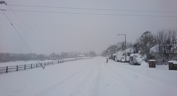 Waterford winter games in full effect