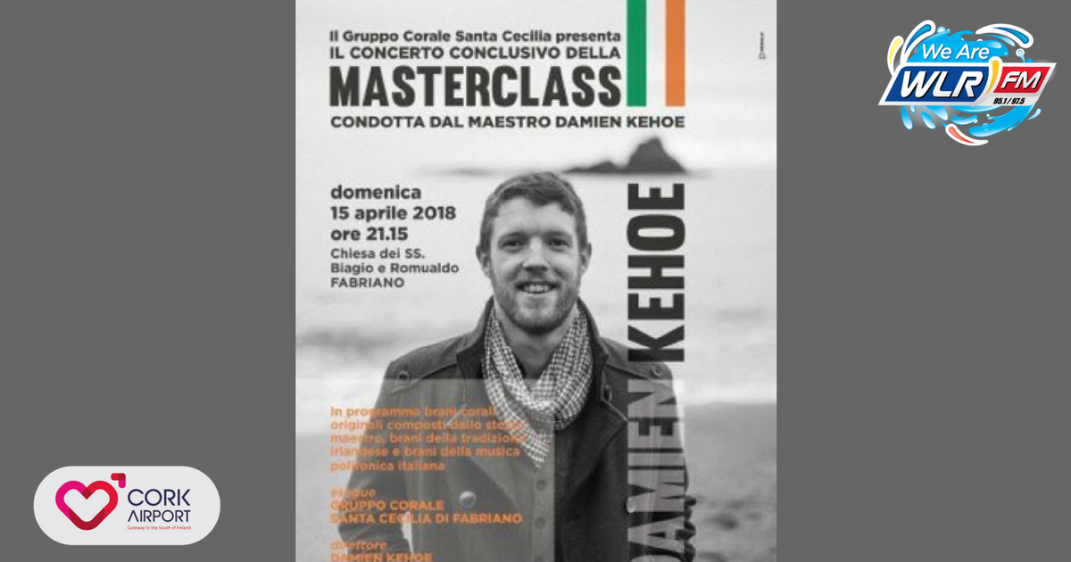 Listen: Geoff talks to Damien Kehoe who is off to Italy this week to teach a masterclass