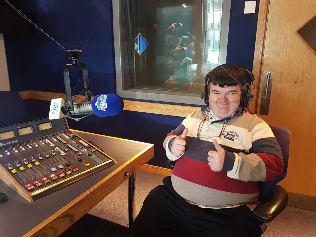 Listen back: Local man Billy Gear joins The Big Breakfast Blaa crew for National Job Shadow Day