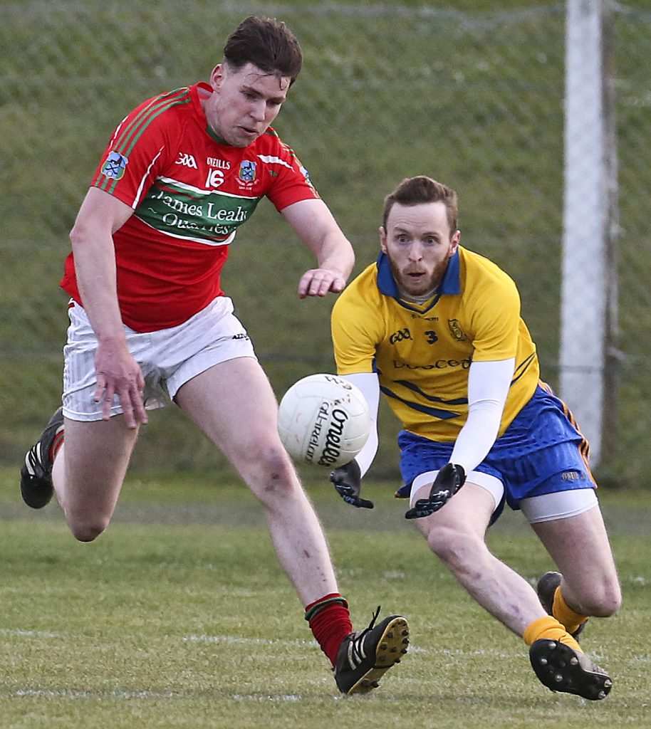 County Senior Football Championship continues this afternoon