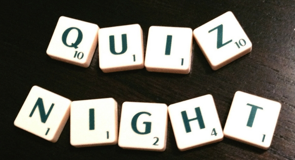 'Thursday Night Quiz' in aid of Sacred Heart Family Recourse Centre April 26th