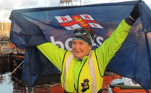 Woman running the coast to raise funds for the RNLI arrives in Waterford