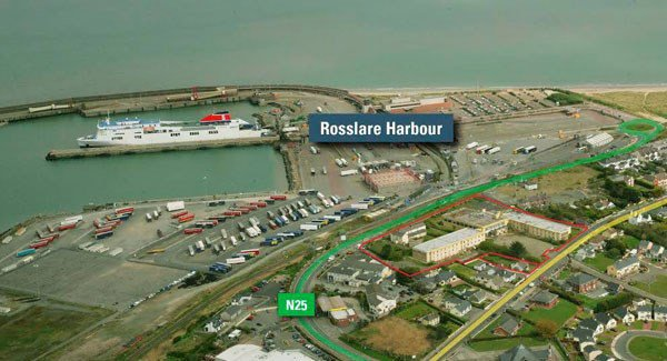 Gardaí appeal for witnesses after man killed at Rosslare Europort