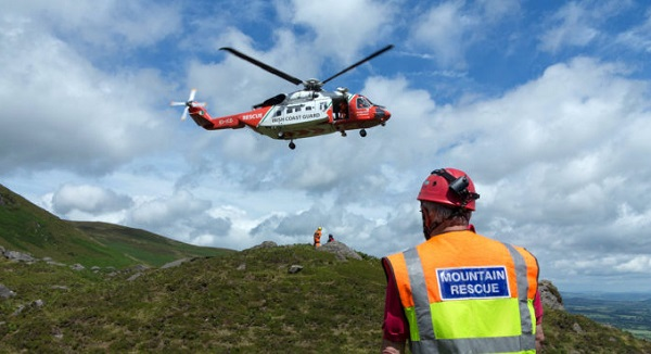 Irish Mountain Rescue teams are training in the Comeraghs this weekend