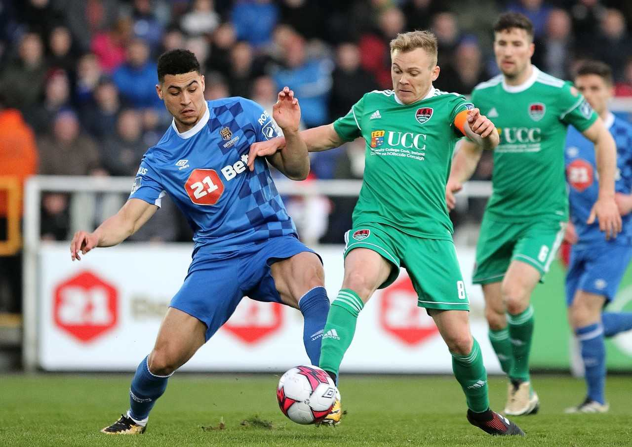 Munster Cup derby this evening as Waterford FC entertain Cork City
