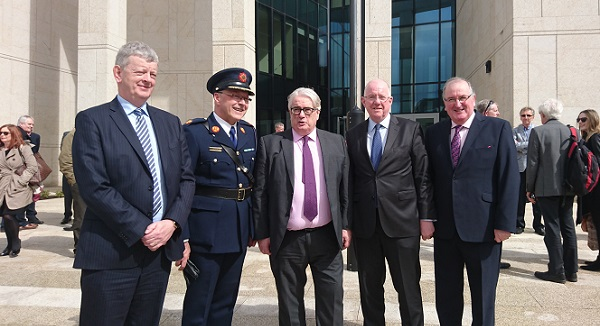 The newly refurbished courthouse in Waterford City has been officially opened