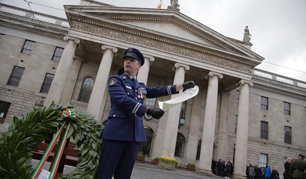 Ceremonies have been held to remember those who died in the 1916 Easter Rising