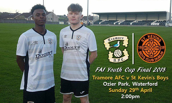 Tramore AFC in FAI Youths Cup Final