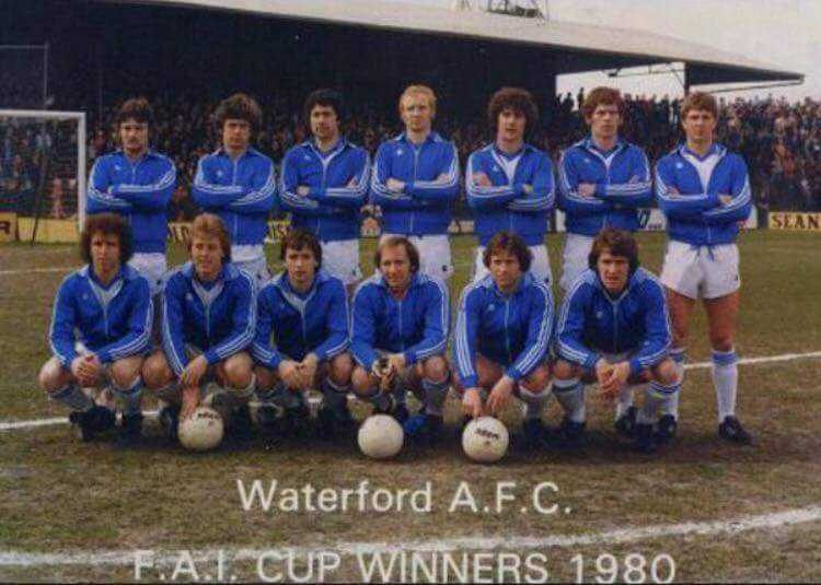 38th Anniversary of Waterford FC winning the FAI Cup