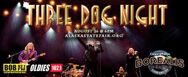 Feature: http://www.alaskastatefair.org/site/events/three-dog-night/
