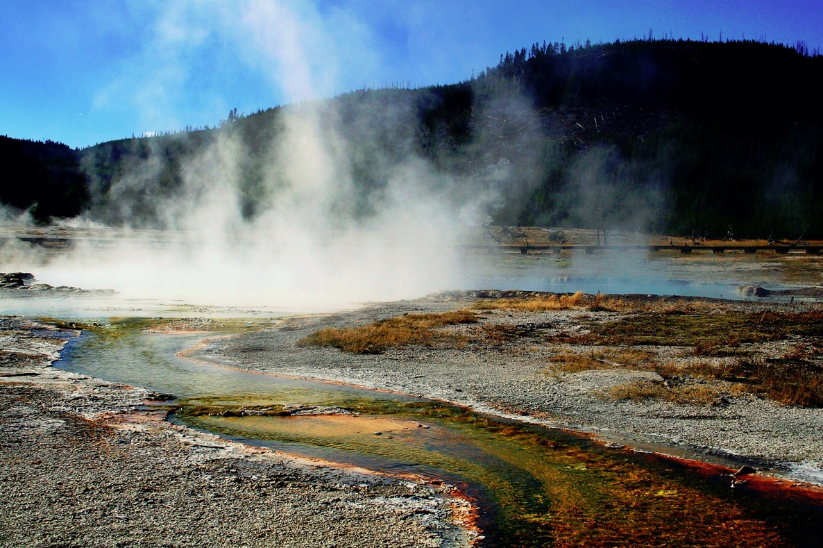The Yellowstone volcano
