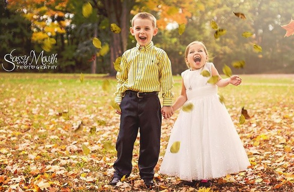 Child's 'wedding' photo shoot before surgery