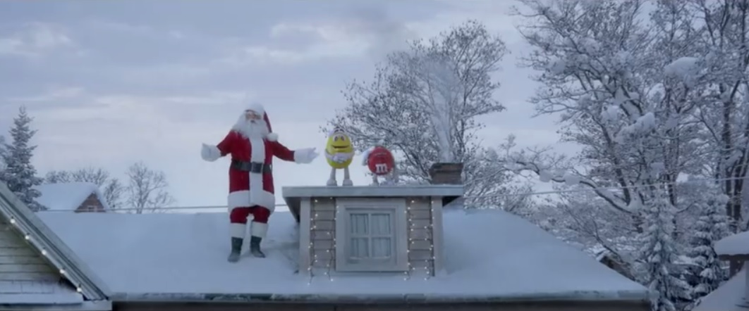 M&M's Christmas commercial conclusion after over 20 years!