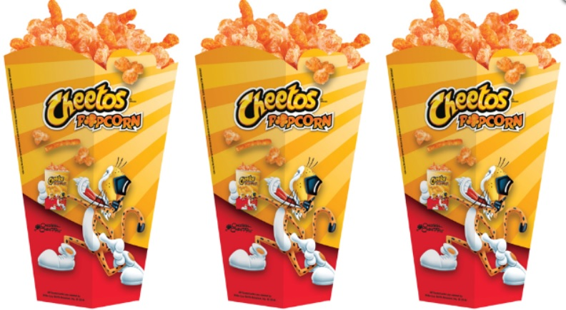 Cheetos Popcorn coming to theaters!