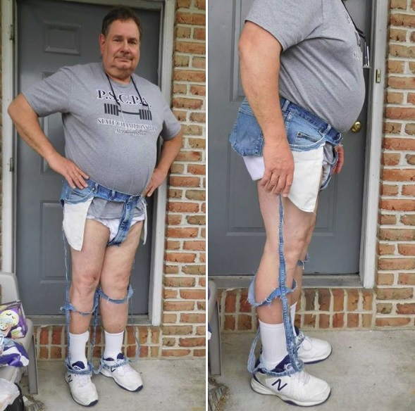 New fad: Extreme Cut Out jeans