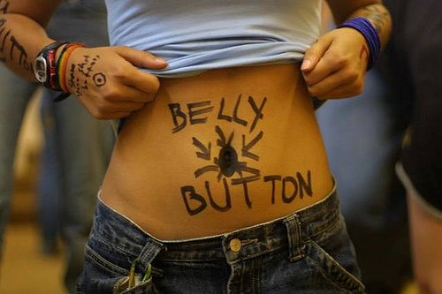 Why Your Should NOT Push on Your Belly Button