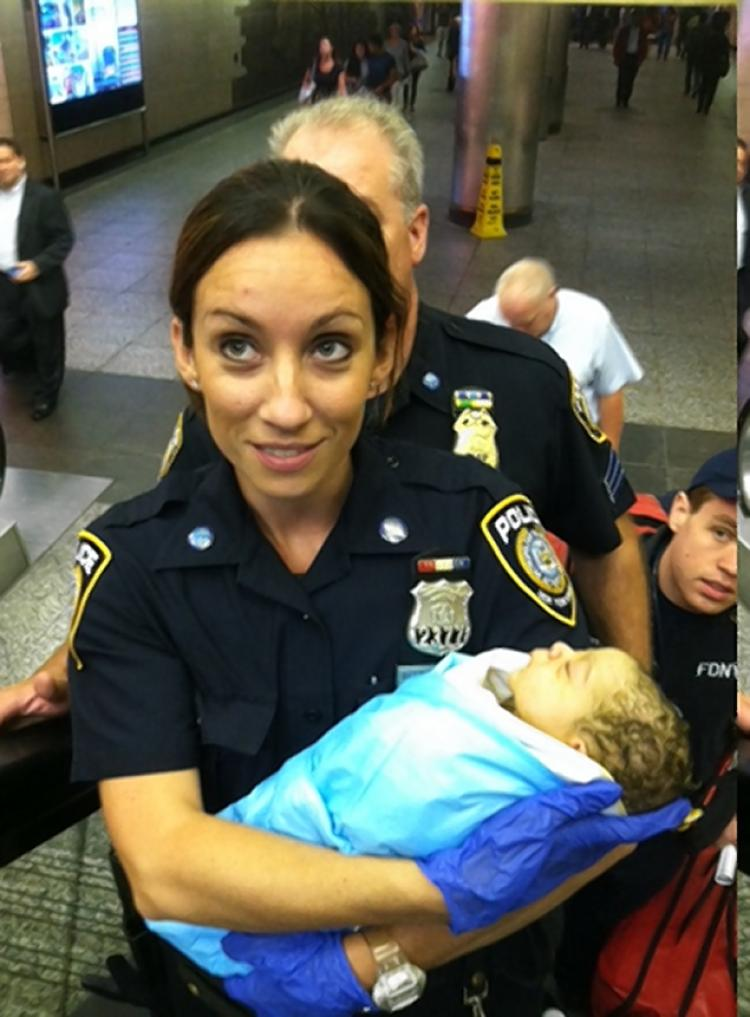 Rookie Officer Delivers Own Baby