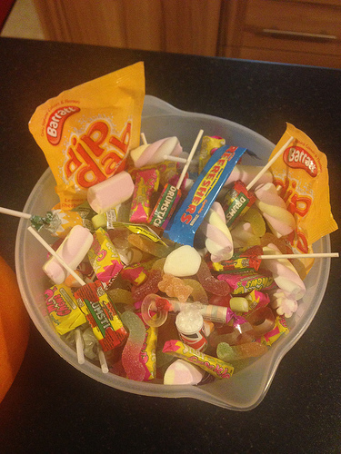 Want To Rid Your House of Excess Candy From Halloween? Donate It To the Troops