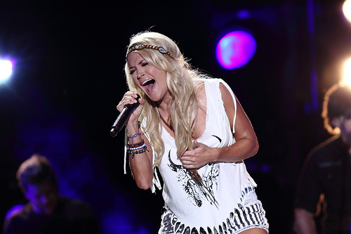Uh Oh...Carrie Underwood Is Steaming Mad