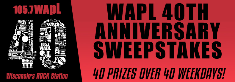 CONTEST: WAPL 40th Anniversary Sweepstakes