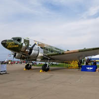 D-Day plane being restored in Oshkosh